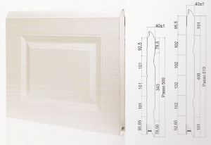 "Панел ""CASSETE STYLE"" касетъчен Бял / 610 мм. Х 2820 мм. Х 40мм."