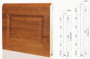 "Панел ""CASSETE STYLE"" касетъчен Златен дъб / 610 мм. Х 2820 мм. Х 40мм."