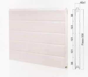 "Панел ""MONOWALL"" гладък Бял / 500 мм. Х 1 м. Х 40 мм."