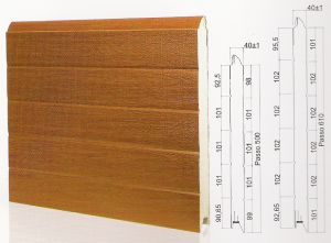 "Панел ""PINCHPROOF"" гладък Златен дъб / 500 мм. Х 1 м. Х 40 мм."