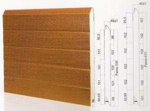 "Панел ""PINCHPROOF"" гладък Златен дъб / 610 мм. Х 1 м. Х 40 мм."