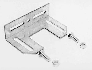 Планки за монтаж на спирачки за торционни пружини 670LH/670RH, галванизирани
