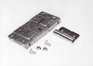 Ролкодържачи долни за RES70, нерегулируеми, за ролки с диаметър на оста 11мм., врата до 165кг.