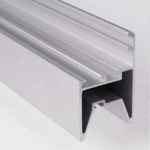 Долни алуминиеви профили за остъклени панел 40мм., L=1м. (ПО ВАШ ИЗБОР)
