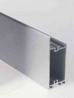 Странични алуминиеви профили, ЕДИНИЧНИ, за панел 40мм. х 500мм.