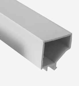 Профили пластмасови за единично стъкло, широки, дължина L=6000мм.