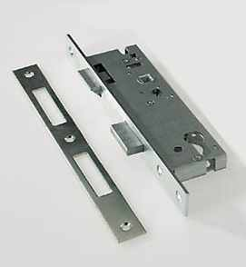 Брави за проходни врати, алуминиеви
