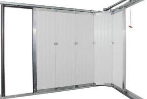 Комплект хардуер (без панел) за странично-плъзгаща се врата с размери 2500 х 2500мм. / ДЕСЕН