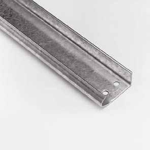 Релси вертикални, галванизирани, 2.0мм., L=3750мм.