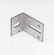 Планки - ъглови за монтаж на вертикални ъгли върху стена, 2.0мм. х 60мм., галванизирани, дълги 133мм.