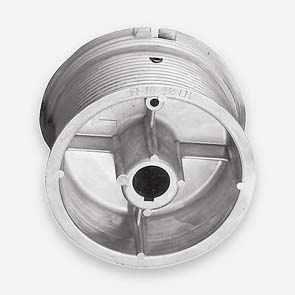 """Ролки за лифтово въже, NL (normal lift), H=5570мм., за тръба 1"""", max. 500кг."""