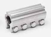 """Муфи алуминиеви 1"""", дължина L=120мм."""